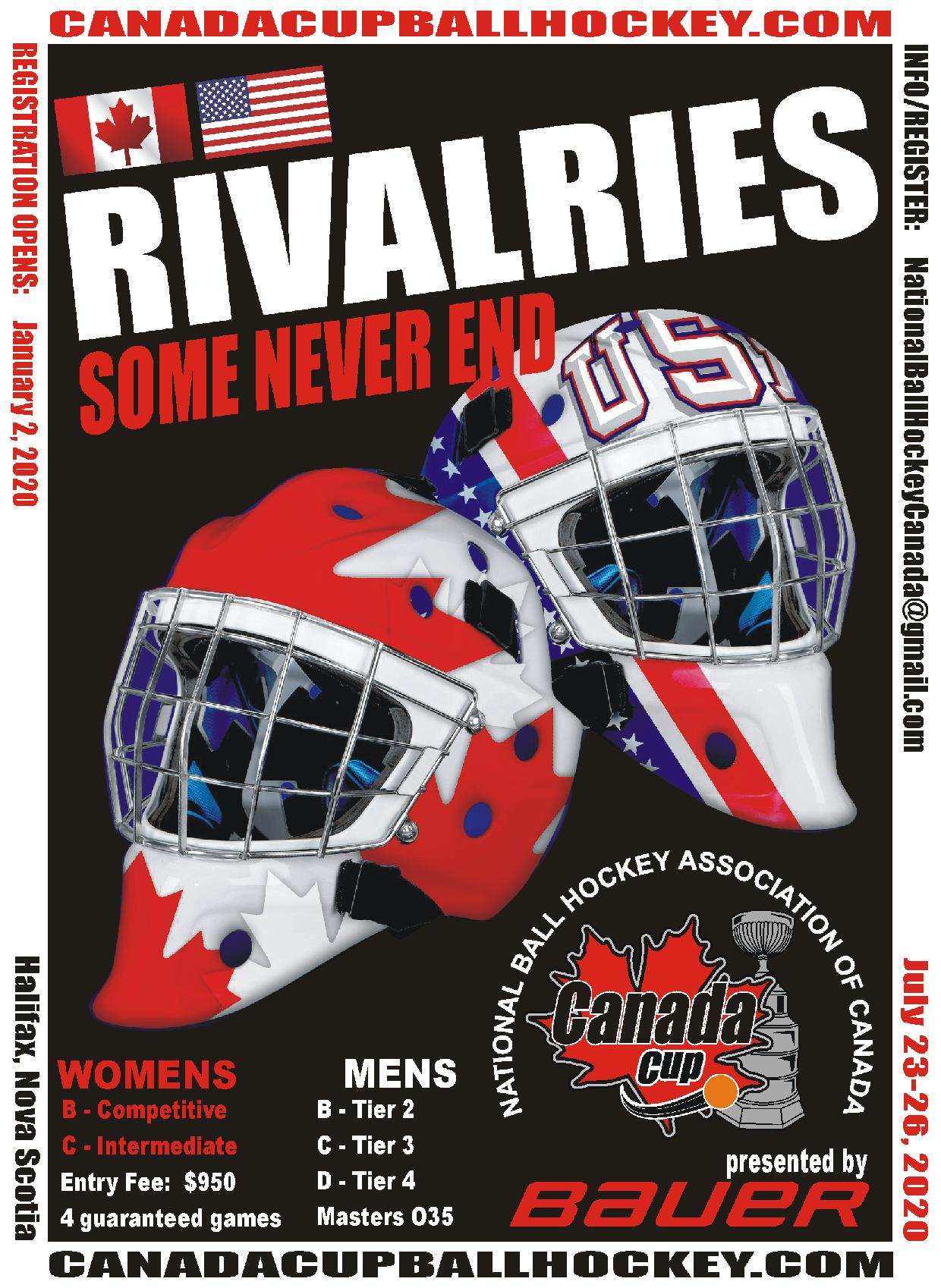 2020 Men's & Women's Tier 2-4 Canada Cup