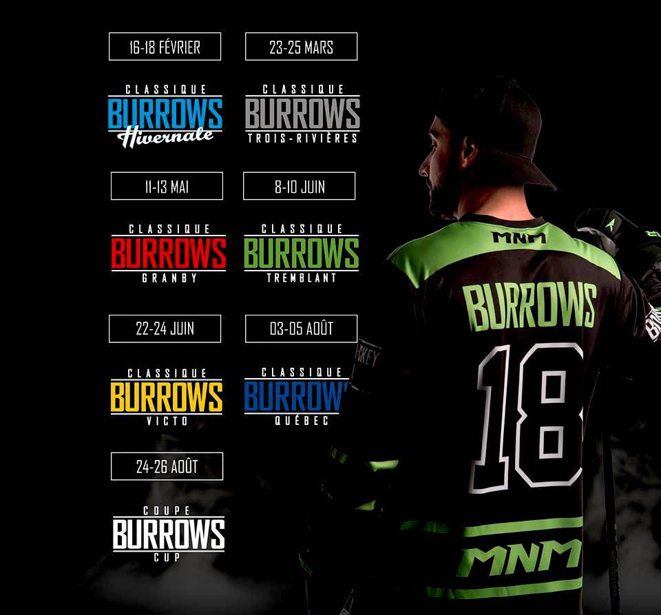 Burrows Cup Dates Announced