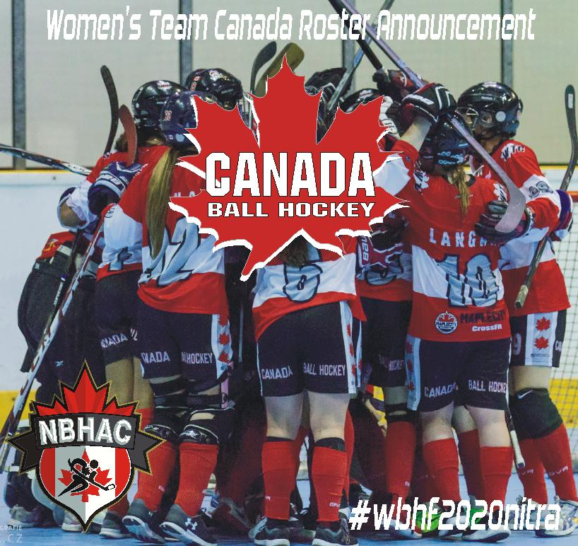 WOMEN'S TEAM CANADA ANNOUNCEMENT