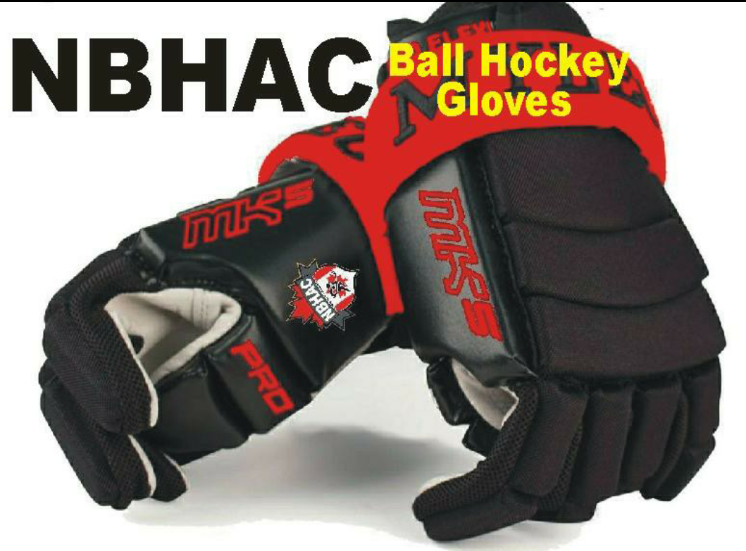 NBHAC Ball Hockey Gloves